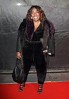 Chizzy Akudolu at The Gold Movie Awards at Regent Street Cinema, London on January 10th 2018<br /> CAP/ROS<br /> ©ROS/Capital Pictures