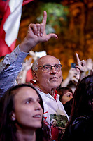 SÃO PAULO, SP 02.06.2019: FESTIVAL LULA LIVRE-SP - Eduardo Suplicy. Artistas e militantes se uniram no Festival Lula Livre, que aconteceu na tarde deste domingo (02) na Praça da República, zona central da capital paulista, em protesto contra a prisão do ex-presidente Lula. (Foto: Ale Frata/Codigo19)