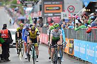 20th May 2018, Giro D italia; stage 15 Tolmezzo to Sappada; 2018, Dimension Data; King, Benjamin; Sappada;
