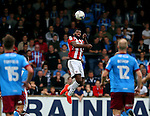 Ethan Ebanks-Landell of Sheffield Utd during the English League One match at Glanford Park Stadium, Scunthorpe. Picture date: September 24th, 2016. Pic Simon Bellis/Sportimage