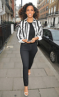 Rochelle Humes at the Tom and Giovanna Fletcher's &quot;Eve of Man&quot; book launch party, The Marylebone Hotel, Welbeck Street, London, England, UK, on Thursday 31 May 2018.<br /> CAP/CAN<br /> &copy;CAN/Capital Pictures