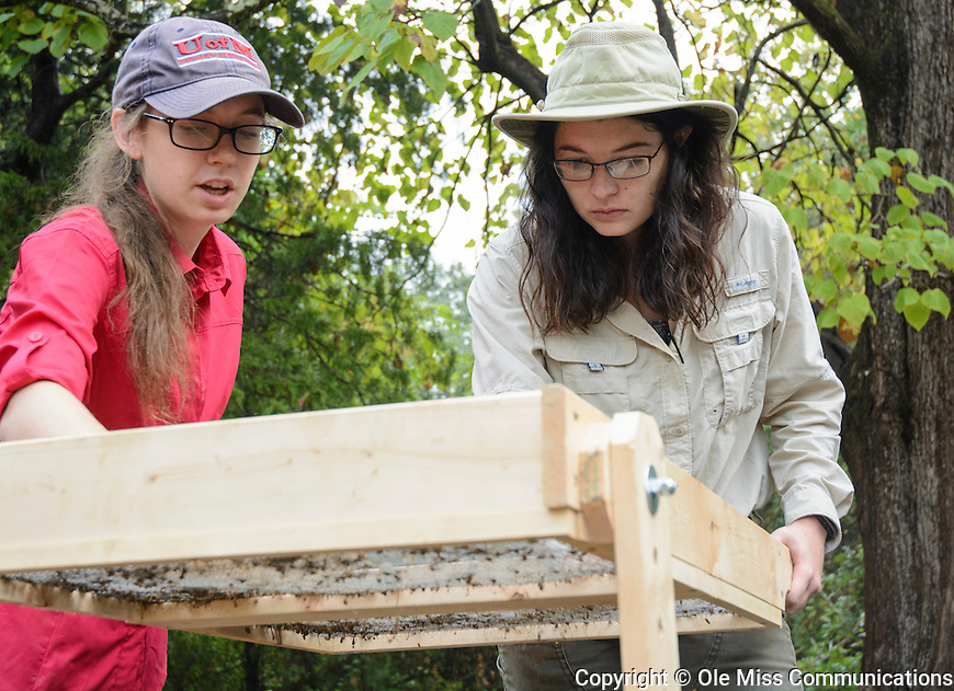 Public Archaeology Day at Rowan Oak. October 15, 2016. Photo by Marlee Crawford/Ole Miss Communications
