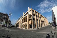 Estacionamiento en la colonia Centenario de Hermosillo junto al Poder Judicial del Estado  en la colonia Centenario de Hermosillo, Sonora, Mexico