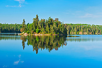 Island in Blindfold Lake<br />
