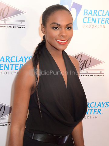 BROOKLYN, NY. - SEPTEMBER 27: Tika Sumpter attending the Grand Opening of the 40/40 Club inside of the Barclays Center in Brooklyn New York on September 27th, 2012. © Laura Lewis / Starlite/MediaPunch Inc.