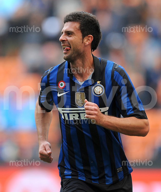 FUSSBALL INTERNATIONAL   SERIE A   SAISON 2011/2012    Inter Mailand - Chievoverona  23.10.2011 Thiago Motta (Inter Mailand)