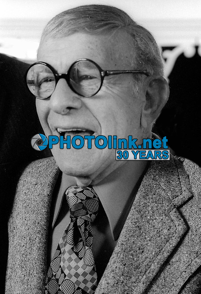 George Burns 1978<br /> Photo By Adam Scull/PHOTOlink.net