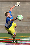 12 July 2009: Boston's Ashley Phillips. Sky Blue FC defeated the Boston Breakers 2-1 at Harvard Stadium in Cambridge, Massachusetts in a regular season Women's Professional Soccer game.