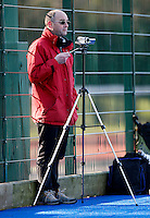 The BBC send out there Hi-tech HD cameras to film during the EHL Mens Cup Quarter-Final game between Hampstead and Westminster and Old Loughtonians at the Paddington Recreation Ground, Maida Vale on Sun Mar 7, 2010