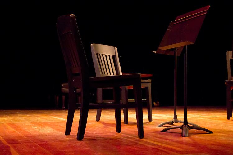 Port Townsend, Centrum, Chamber Music Workshop, June 16-21 2015, Fort Worden, Wheeler Theater, stage set,