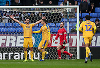 Wigan Athletic's Will Grigg celebrates scoring his side's first goal from the penalty spot<br /> <br /> Photographer Andrew Kearns/CameraSport<br /> <br /> The EFL Sky Bet Championship - Bolton Wanderers v Wigan Athletic - Saturday 1st December 2018 - University of Bolton Stadium - Bolton<br /> <br /> World Copyright © 2018 CameraSport. All rights reserved. 43 Linden Ave. Countesthorpe. Leicester. England. LE8 5PG - Tel: +44 (0) 116 277 4147 - admin@camerasport.com - www.camerasport.com