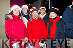 Enjoying the celebrations at the turning on of the Lights in Ballybunion on Sunday evening. L-r Brenda Twomey, Jean Liston, Norma Mason, Susuan Walsh and Patricia Boyle.