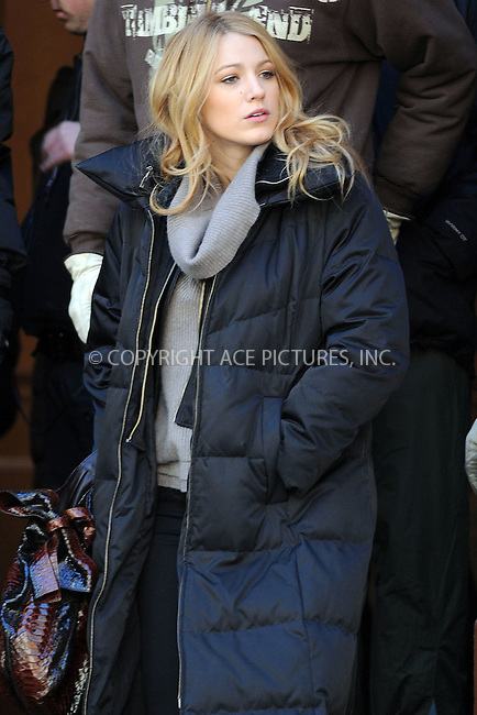 WWW.ACEPIXS.COM . . . . . ....March 13 2009, New York City....Actress Blake Lively shot a scene for the TV show 'Gossip Girl' in which she has been arrested by the New York City Police Department on the Upper East Side of Manhattan on March 13 2009 in New York City.......Please byline: KRISTIN CALLAHAN - ACEPIXS.COM.. . . . . . ..Ace Pictures, Inc:  ..(212) 243-8787 or (646) 679 0430..e-mail: picturedesk@acepixs.com..web: http://www.acepixs.com