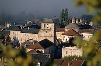 Europe/France/Midi-Pyrénées/46/Lot/Souillac: Le Beffroi et l'église Sainte-Marie