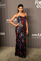 06 February 2019 - New York, NY - Danielle Herrington. 21st Annual amfAR Gala New York benefit for AIDS research during New York Fashion Week held at Cipriani Wall Street.  <br /> CAP/ADM/DW<br /> &copy;DW/ADM/Capital Pictures