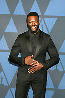 LOS ANGELES - OCT 27:  Aldis Hodge at the 11th Annual Governors Awards at the Dolby Theater on October 27, 2019 in Los Angeles, CA