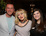 Andrew Lippa, Anais Mitchell and Rachel Routh during the DGf Salon with Anais Mitchell at the Kara Uterberg Residence on June 3, 2019  in New York City.