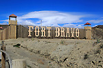Fort Bravo movie set tourist attraction near Tabernas,  Almeria, Spain