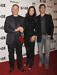 LOS ANGELES, CA - SEPTEMBER 30: Robert A. Altman, Lynda Carter and James Altman arrive at the Official Launch Party For RAGE Hosted By Charlize Theron at Chinatown's Historical Central Plaza on September 30, 2011 in Los Angeles, California.