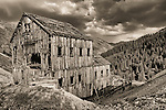 Frisco Mill ruins near Animas Forks ghost town