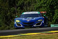 IMSA WeatherTech SportsCar Championship<br /> Michelin GT Challenge at VIR<br /> Virginia International Raceway, Alton, VA USA<br /> Friday 25 August 2017<br /> 93, Acura, Acura NSX, GTD, Andy Lally, Katherine Legge<br /> World Copyright: Richard Dole<br /> LAT Images<br /> ref: Digital Image RD_VIR_17_134