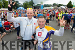 Don Willis and Tom Gentleman who cycled the Ring of Kerry Twice on Saturday.