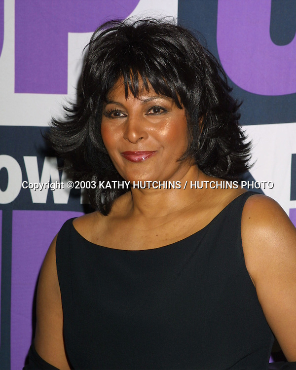 ©2003 KATHY HUTCHINS / HUTCHINS PHOTO.3rd Power Up Premiere Gala.BEVERLY HILLS, CA.NOVEMBER 2, 2003..PAM GRIER