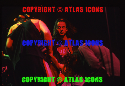 PEARL JAM: Live, In New York City, On November 11- 15 , 1991.Photo Credit: Eddie Malluk/Atlas Icons.com