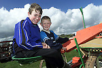 Cormac O'Connor and Tommy Barrett at the Ploughing Festival in Dunleer..Picture Paul Mohan Newsfile