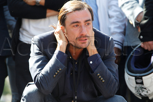 """16th September 2017, madrid, Spain; Gelete Nieto during homage """"Memorial Angel Nieto 12+1"""" in Madrid, for the famous motorcycle rider Angel Nieto who was killed in a traffic accident in Ibiza last month"""