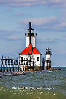 64795-02815 St. Joseph North Pier Lighthouses St. Joseph, MI