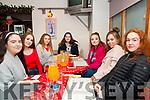 16th Birthdays: Twins Katelyn & Denise Cusack, Listowel celebrating their 16th birthdays at Casa Mia Restaurant, Listowel on Saturday night last. L-R : Laura Buckley, Orla Mahony, Nicole Collins Katelyn & Denise Cusack, Veronica Kazimierska & Molly McElligott.