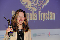 SPORT: HEERENVEEN: Trinitas, 30-01-2013, Sportgala Fryslân), Antoinette de Jong (sporttalent), ©foto Martin de Jong