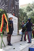 """Commemoration of the """"Festa della Liberazione"""" in Italy.In picture a moment of ceremony"""