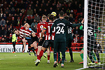 Jack O'Connell of Sheffield United shoots at goal during the Premier League match at Bramall Lane, Sheffield. Picture date: 5th December 2019. Picture credit should read: James Wilson/Sportimage