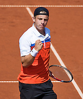 The Hague, Netherlands, 26 July, 2016, Tennis,  The Hague Open , Tallon Griekspoor (NED)<br /> Photo: Henk Koster/tennisimages.com