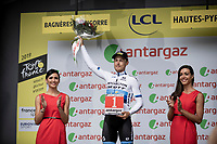 Matteo Trentin (ITA/Mitchelton-Scott) wins the combativety award of the day<br /> <br /> Stage 12: Toulouse to Bagnères-de-Bigorre (202km)<br /> 106th Tour de France 2019 (2.UWT)<br /> <br /> ©kramon
