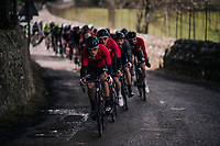 Team Lotto-Soudal takes control over the race to position defending champion Tim Wellens ideally for the finale of the race<br /> <br /> Trofeo Lloseta - Andratx: 140km<br /> 27th Challenge Ciclista Mallorca 2018