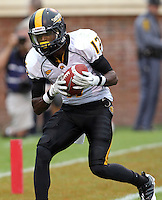 Southern Miss Golden Eagles defensive back Emmanuel Johnson makes a touchdown catch (12) during the game at Scott Stadium. Virginia was defeated 30-24. (Photo/Andrew Shurtleff)