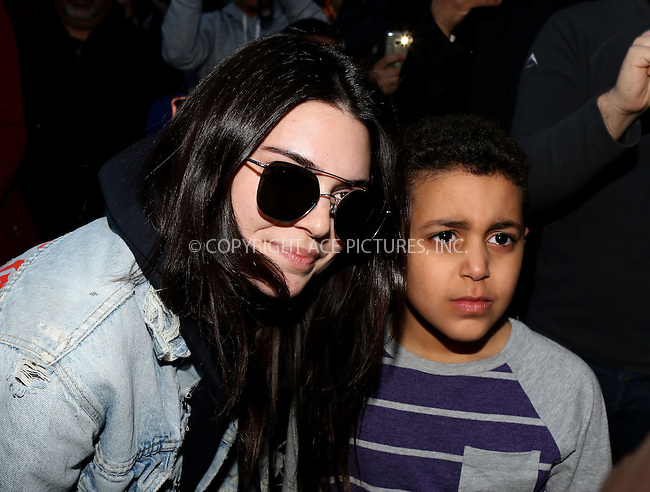 WWW.ACEPIXS.COM<br /> <br /> March 29 2016, New York City<br /> <br /> Kendall Jenner left an East Village hotel and visited a pet store on March 29 2016 in New York City<br /> <br /> By Line: Nancy Rivera/ACE Pictures<br /> <br /> <br /> ACE Pictures, Inc.<br /> tel: 646 769 0430<br /> Email: info@acepixs.com<br /> www.acepixs.com