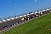Monster Energy NASCAR Cup Series<br /> Daytona 500<br /> Daytona International Speedway, Daytona Beach, FL USA<br /> Sunday 18 February 2018<br /> Denny Hamlin, Joe Gibbs Racing, FedEx Express Toyota Camry, Darrell Wallace Jr., Richard Petty Motorsports, Click n' Close Chevrolet Camaro, Ricky Stenhouse Jr., Roush Fenway Racing, Fastenal Ford Fusion<br /> World Copyright: Logan Whitton<br /> LAT Images
