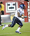 Villanova Wildcats Kevin Monangai (2) in action during a game against the Temple Owls on August 31, 2012 at Lincoln Financial Field in Philadelphia, PA. Temple beat Villanova 41-10.