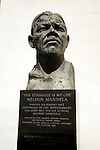 Nelson Mandela statue outside, Royal Festival Hall, London