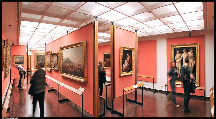 Galleria Sabauda. Immagine appartenente al progetto fotografico Vita da Museo di Marco Saroldi.