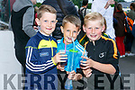 Enjoying the Friends of University Hospital Kerry 'Night at the Dog' in the Kingdom Greyhound Stadium on Friday were Dylan Costello, Adam O'Neill and Evan O'Connor