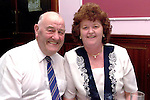 Paddy and Mary Reynolds at the Pearse Park Old Folks party in the Bridgeford..Picture Paul Mohan Newsfile