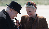 Churchill (2017)  <br /> Winston Churchill (Brian Cox) &amp; Clementine Churchill (Miranda Richardson)<br /> *Filmstill - Editorial Use Only*<br /> CAP/KFS<br /> Image supplied by Capital Pictures