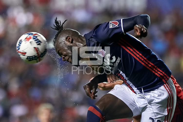 Bridgeview, IL - Saturday, August 05, 2017: The Chicago fire played the New England Revolution in a Major League Soccer (MLS) game at Toyota Park.