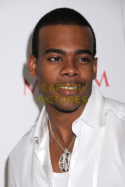 MARIO.Maxim's Hot 100 Party 2008 at Paramount Studios, Hollywood, California, USA..May 21st, 2008.headshot portrait goatee facial hair diamond necklace .CAP/ADM/BP.©Byron Purvis/AdMedia/Capital Pictures.