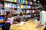 CORAL GABLES, FL - SEPTEMBER 21: Big Gipp of the Goodie Mob, CeeLo Green and Mitchell Kaplan greets fans and signs copies of his book 'Everybodys Brother' at Books and Books on September 21, 2013 in Coral Gables, Florida. (Photo by Johnny Louis/jlnphotography.com)